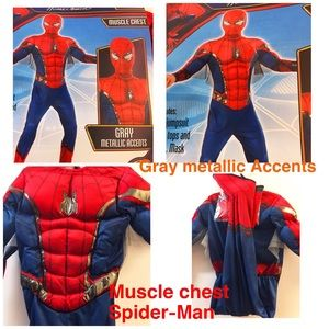 Other - Spider-Man Child Muscle Chest Costume